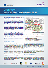 OpenFlow - enabled SDN testbed over TEIN (2013.8) 썸네일
