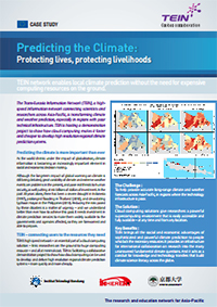 Predicting the Climate : Protecting lives, protecting livelihoods  썸네일