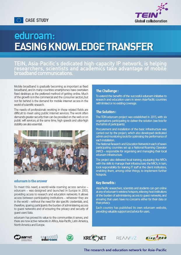 eduroam: Easing knowledge transfer  썸네일