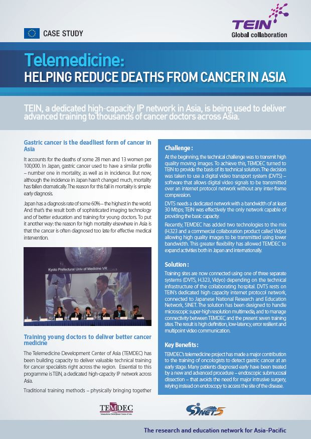 [Case Study] Telemedicine : Helping reduce deaths from Cancer in Asia 썸네일