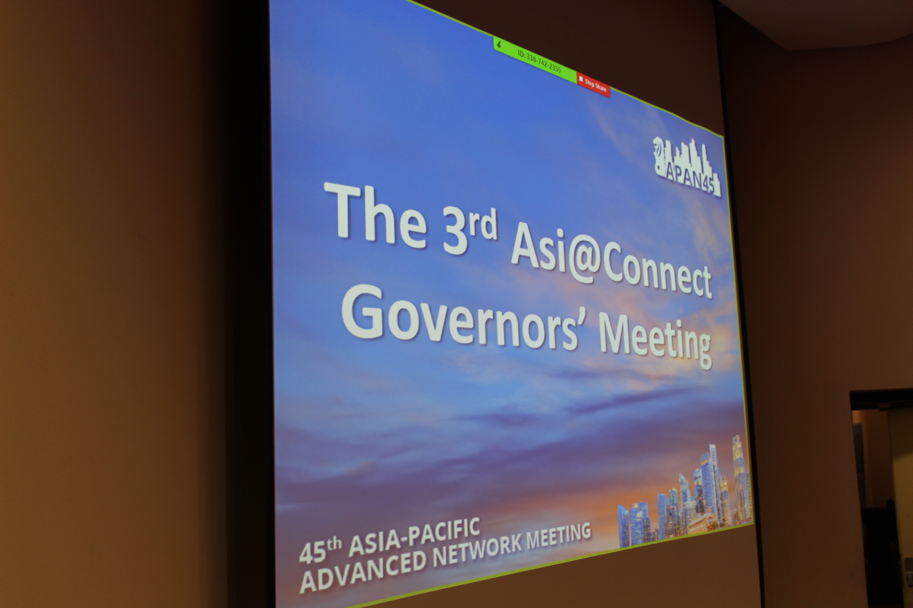 (26 March 2018) The 3rd Asi@Connect Meeting 썸네일